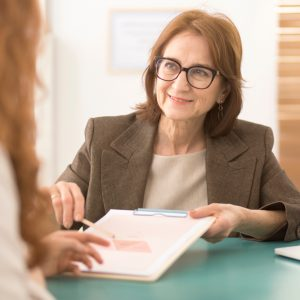Personal Life Coach Helping Client